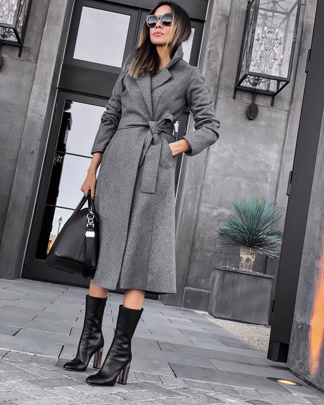 как красиво завязать пальто фото 7