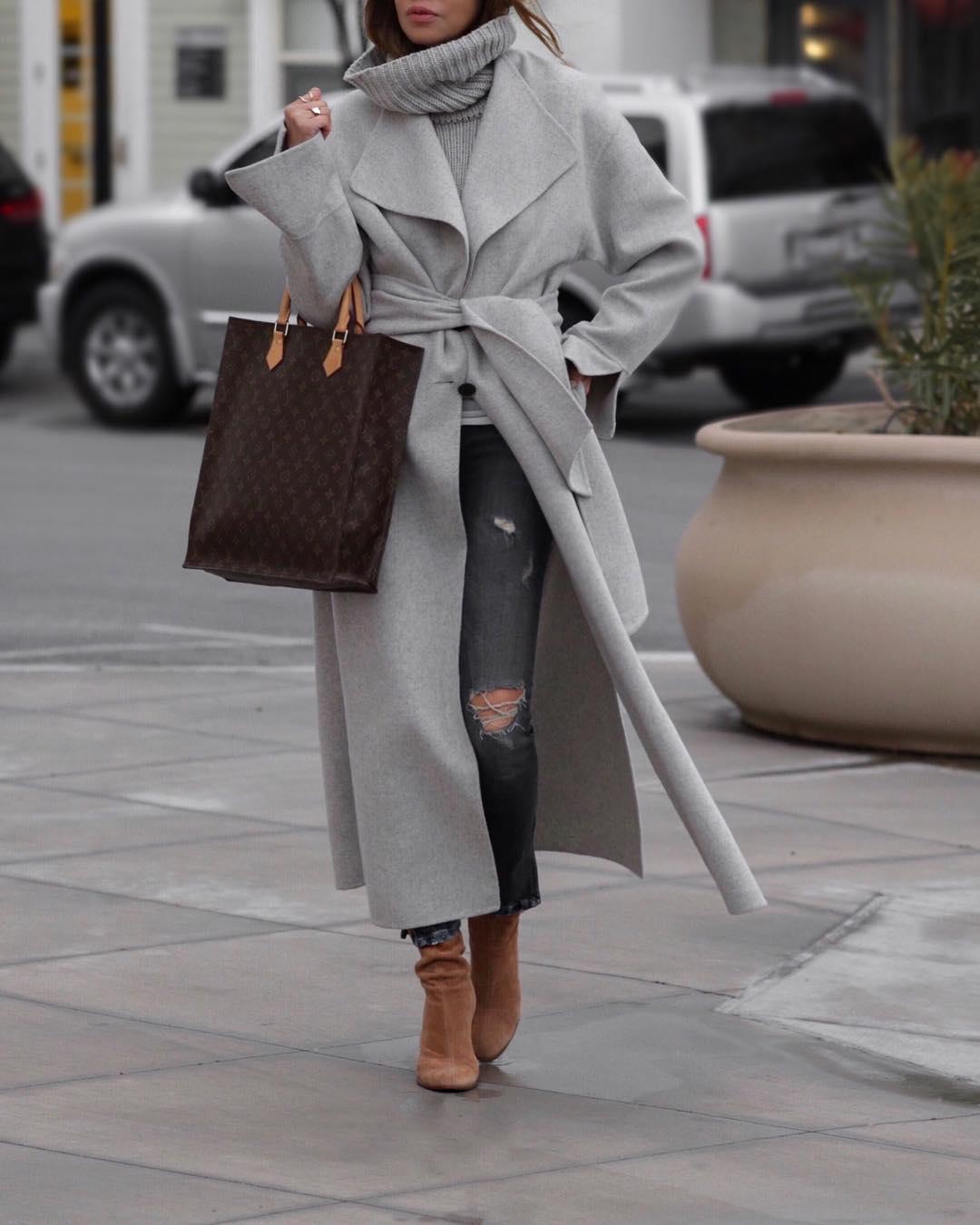 как красиво завязать пальто фото 9