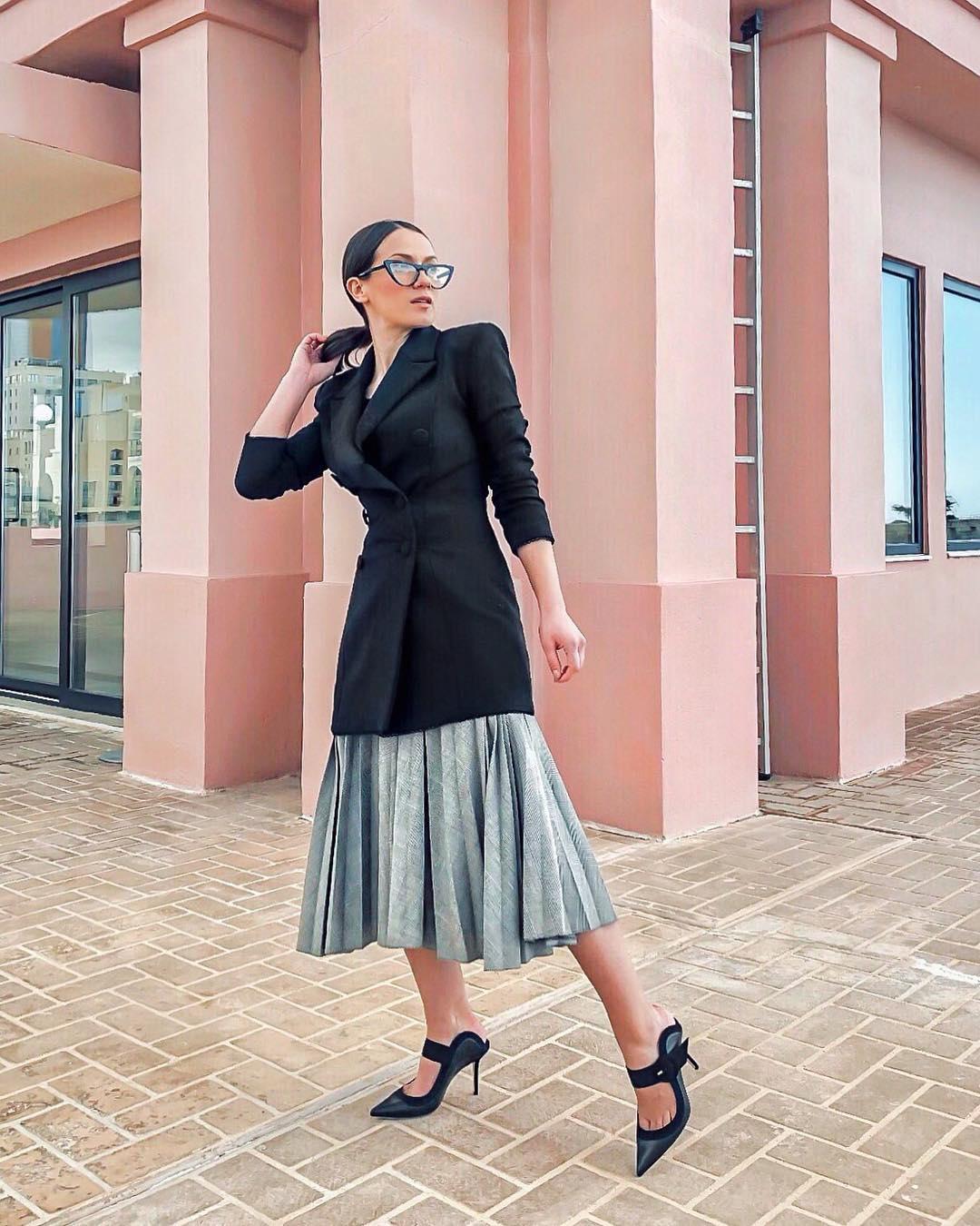 модные образы для деловых женщин осени 2019 фото 6