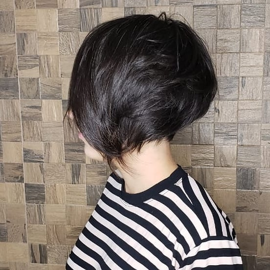 укладка затылка на коротких волосах фото 12