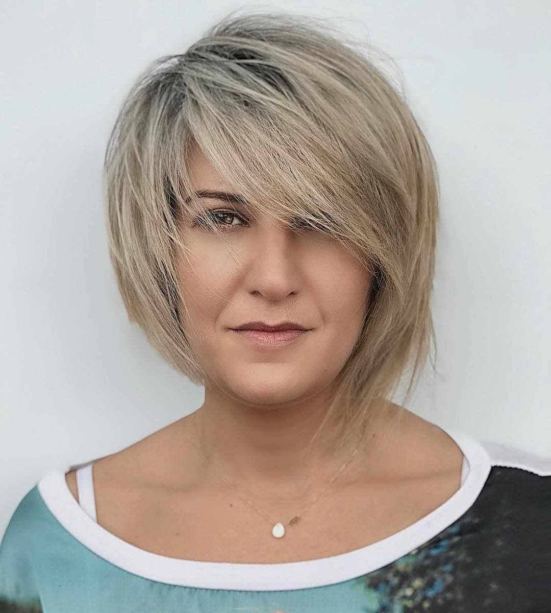 объемные стрижки для женщин 40-50 лет фото 5