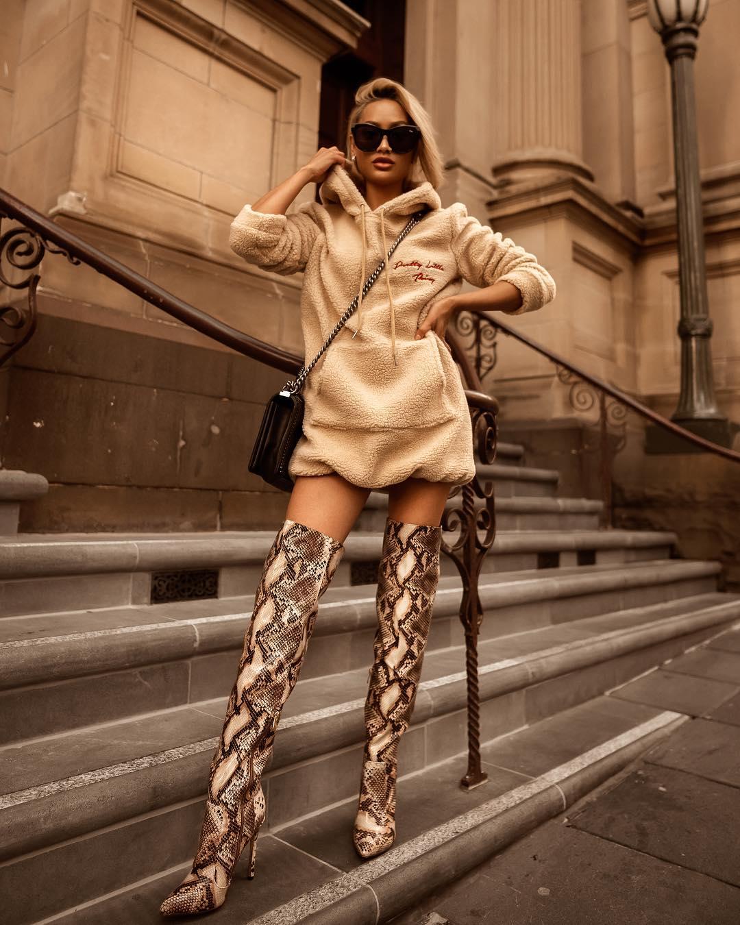 Модная женская обувь осень-зима 2019-2020 фото 7