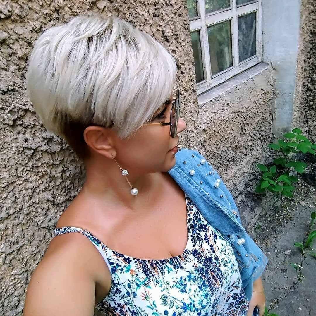 стрижки для блондинок 40-50 лет фото 5