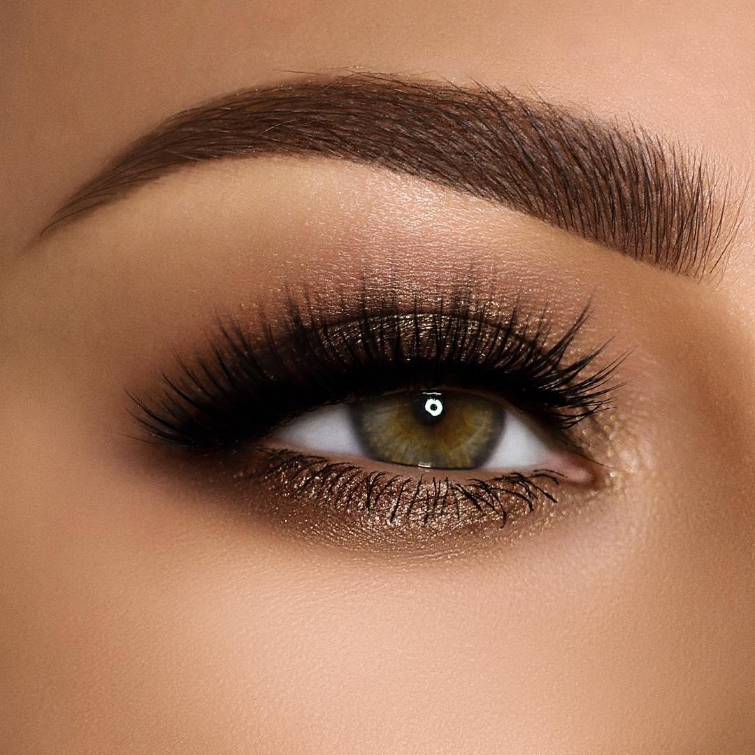 макияж глаз осень-зима фото 6