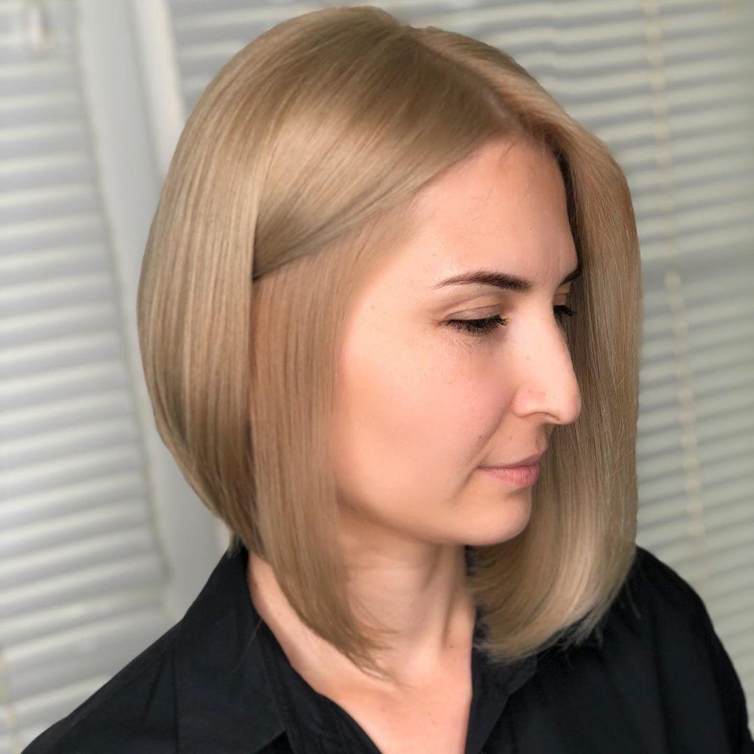 стрижки для блондинок 40-50 лет фото 12