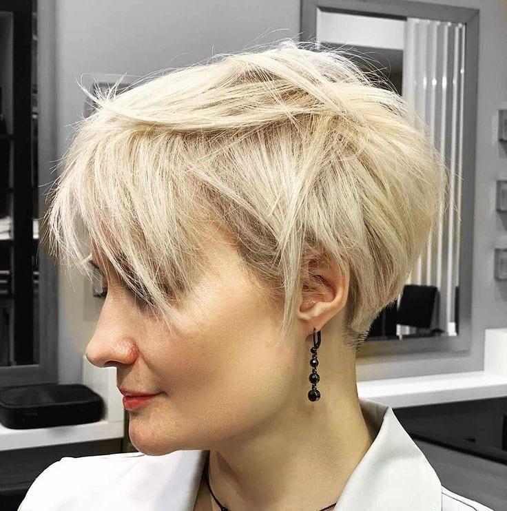 стрижки для блондинок 40-50 лет фото 8