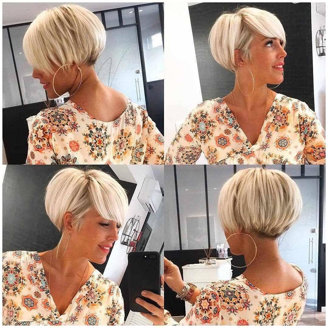 стрижки для блондинок 40-50 лет фото 10