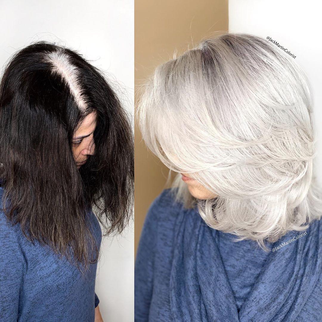 объемные стрижки для женщин 40-50 лет фото 9