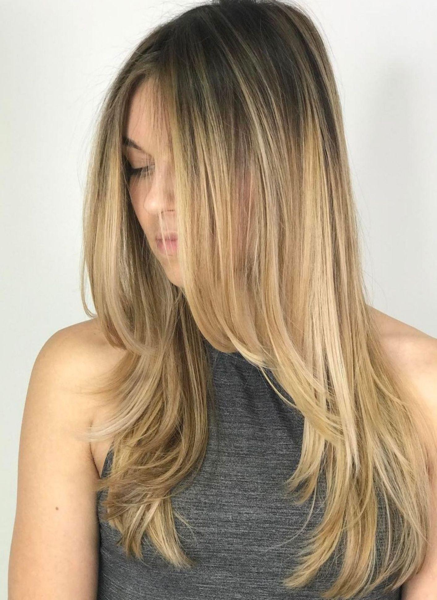 стрижки на длинные волосы 2020 фото 4