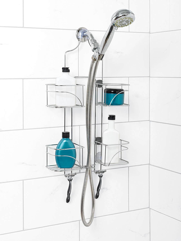 Предметы декора для функциональной организации ванной комнаты фото 1