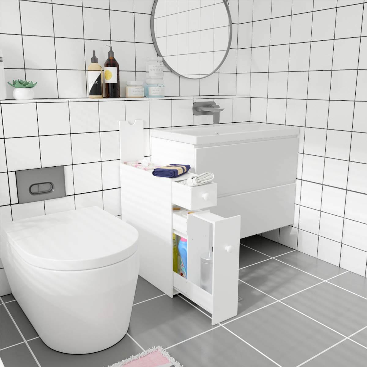Предметы декора для функциональной организации ванной комнаты фото 3