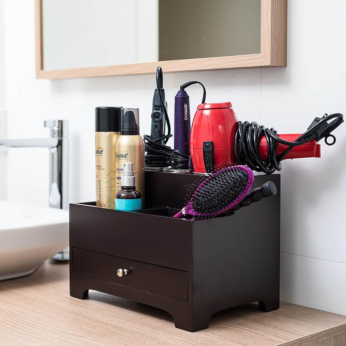 Предметы декора для функциональной организации ванной комнаты фото 6