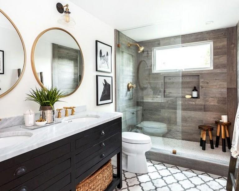Ванная комната: идеи для дизайна интерьера фото 10