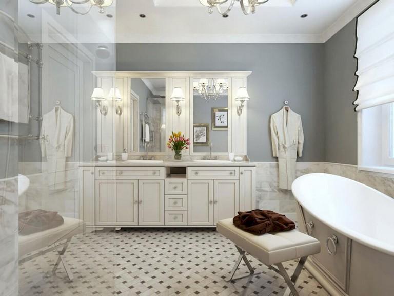 Ванная комната: идеи для дизайна интерьера фото 14
