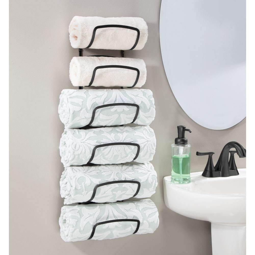Предметы декора для функциональной организации ванной комнаты фото 5