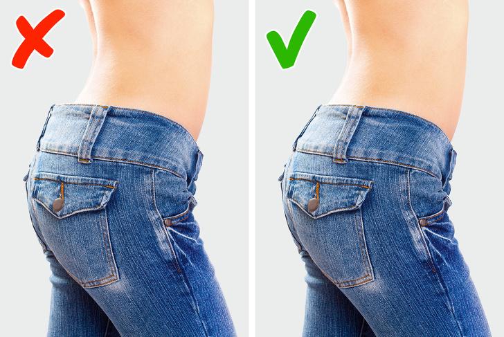 В нашей статье мы собрали для вас самые распространенные ошибки, которые мы совершаем при покупке джинсов фото 3