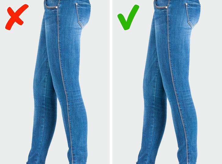 В нашей статье мы собрали для вас самые распространенные ошибки, которые мы совершаем при покупке джинсов фото 2