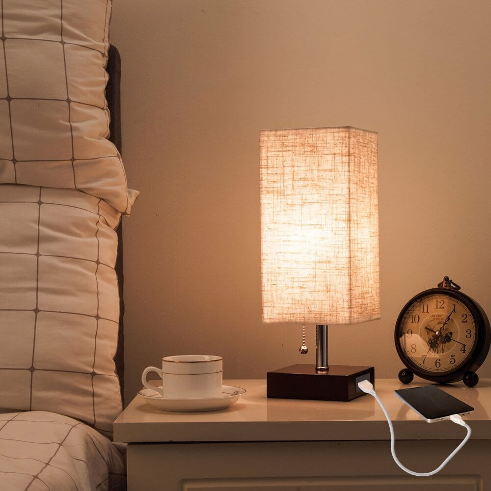 Прикроватная лампа фото 10