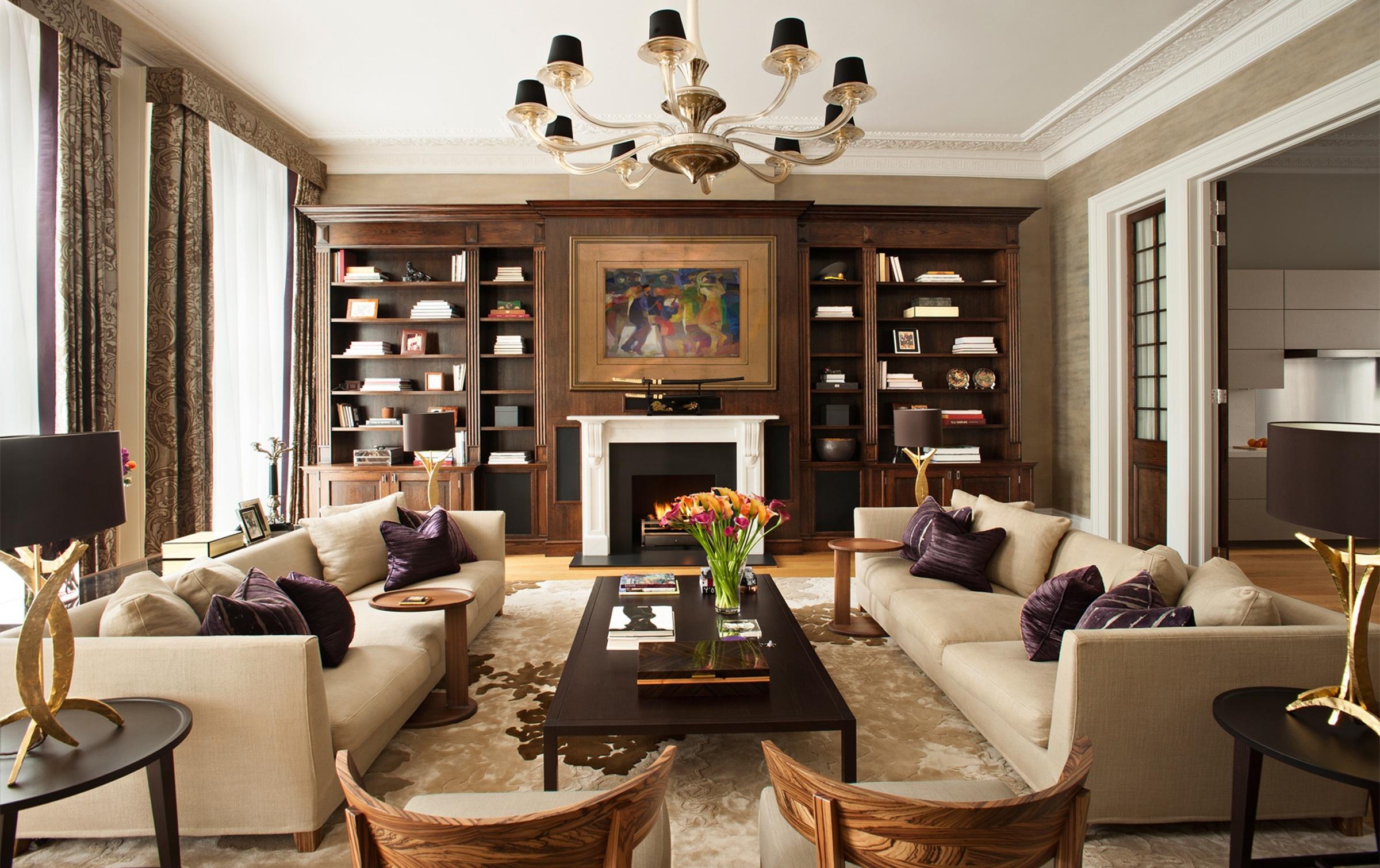 Советы для организации пространства в вашей гостиной фото 2