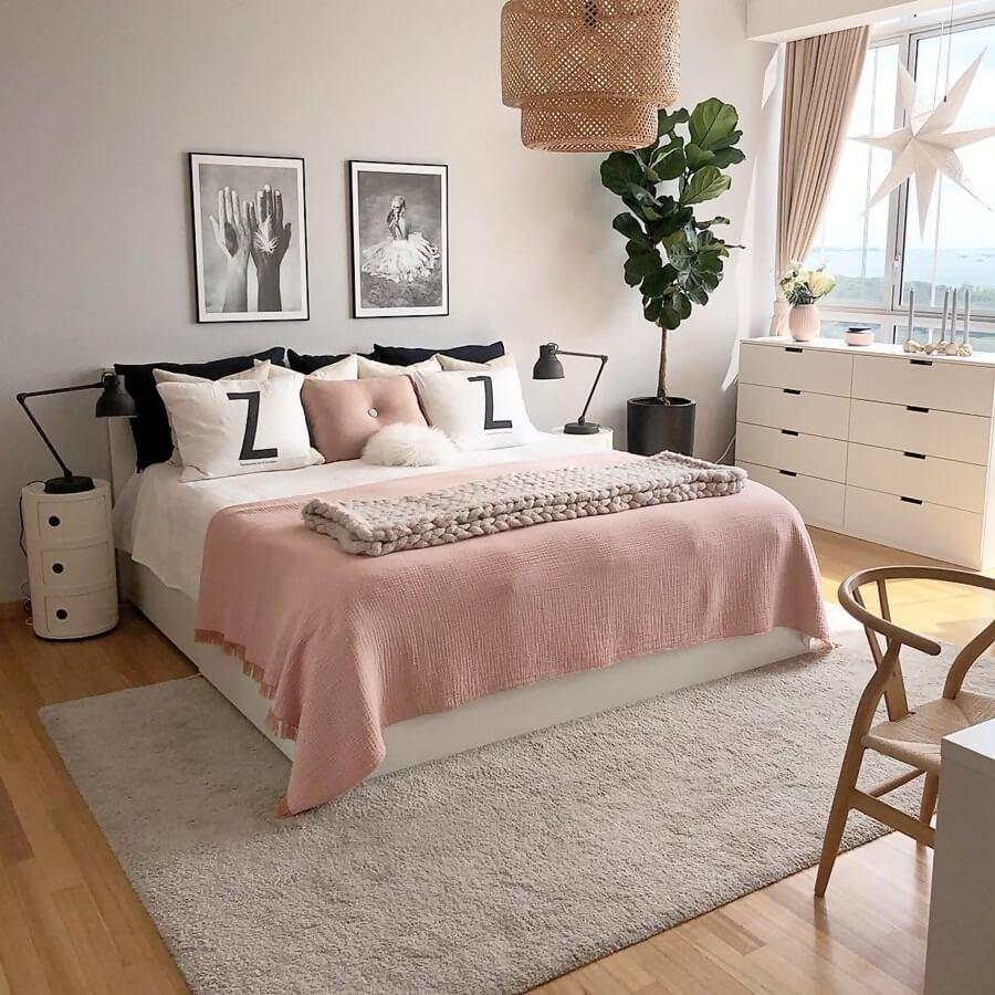 Идеи дизайна интерьера спальни в пастельных тонах фото 2