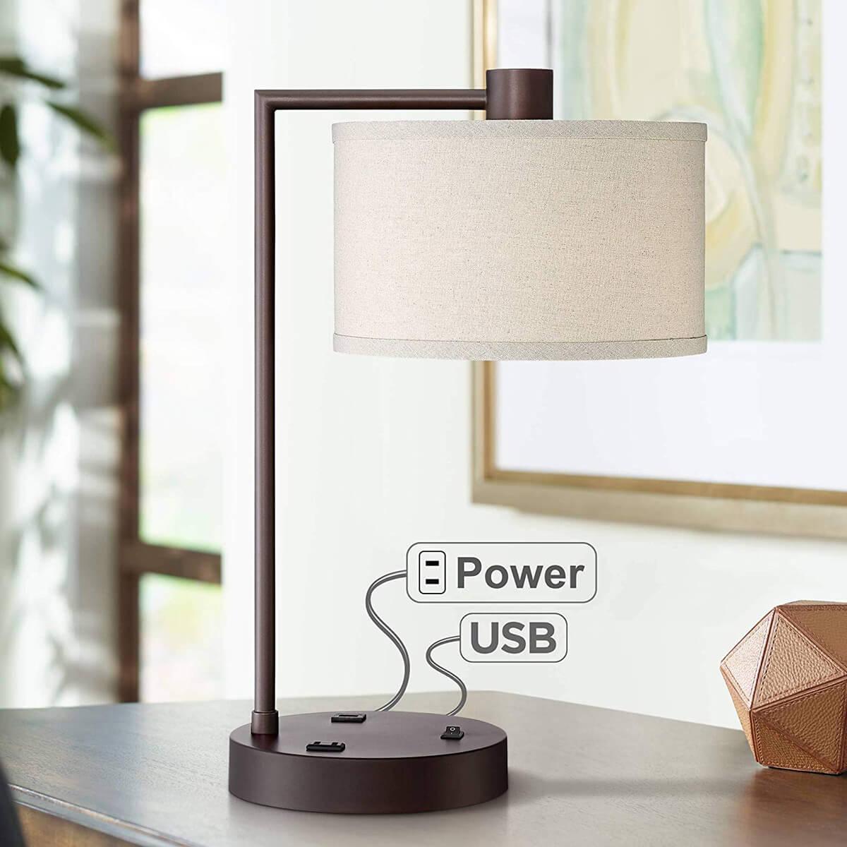 Прикроватная лампа фото 14