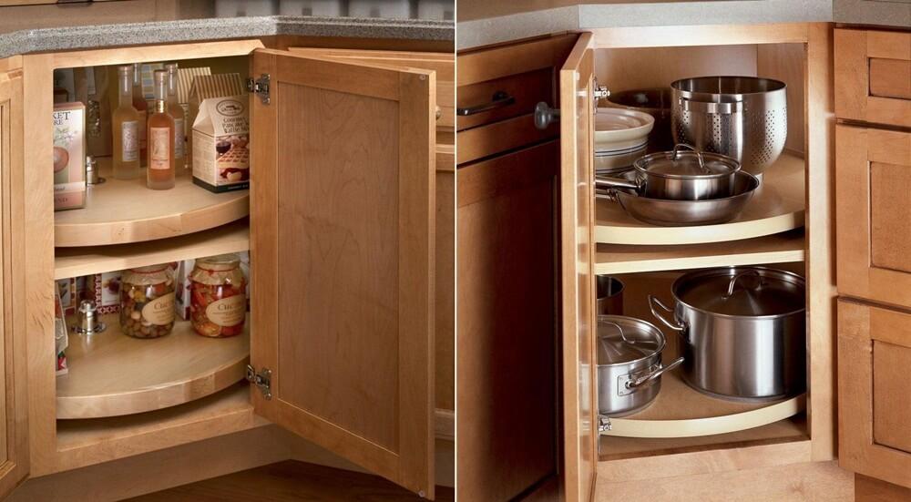 Советы организации пространства в вашем кухонном шкафу фото 7