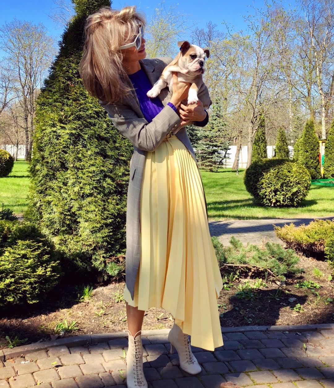 длинные юбки осени 2019 фото 5