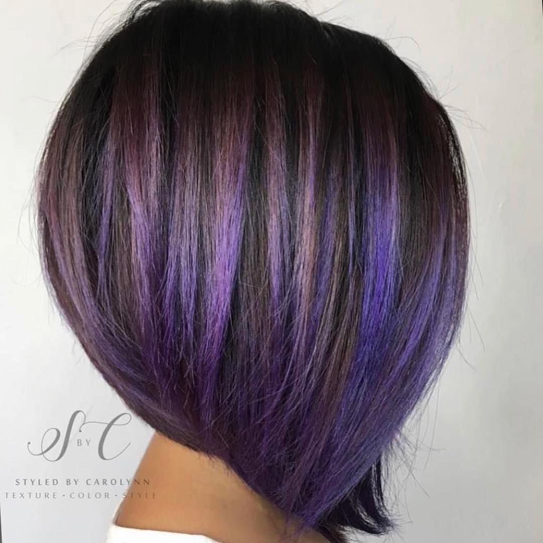 Мелирование на коротких волосах 2019-2020 фото 7