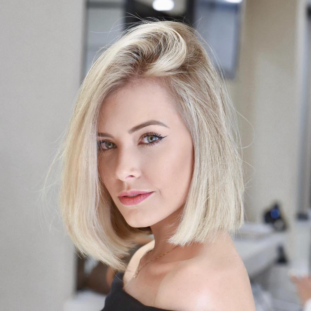 Стильные варианты стрижек на короткие волосы фото 8