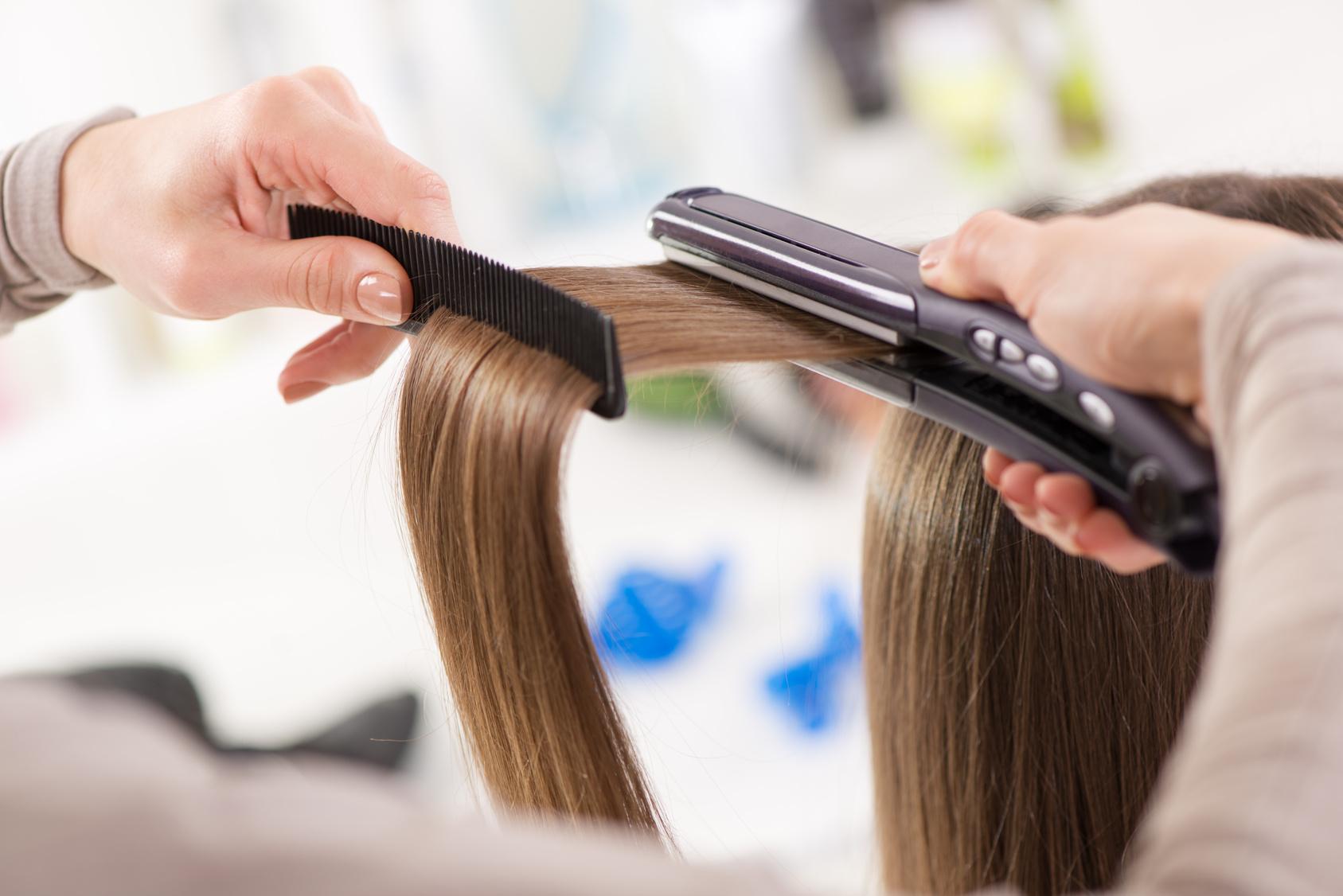 Кератиновое выпрямление волос фото 2