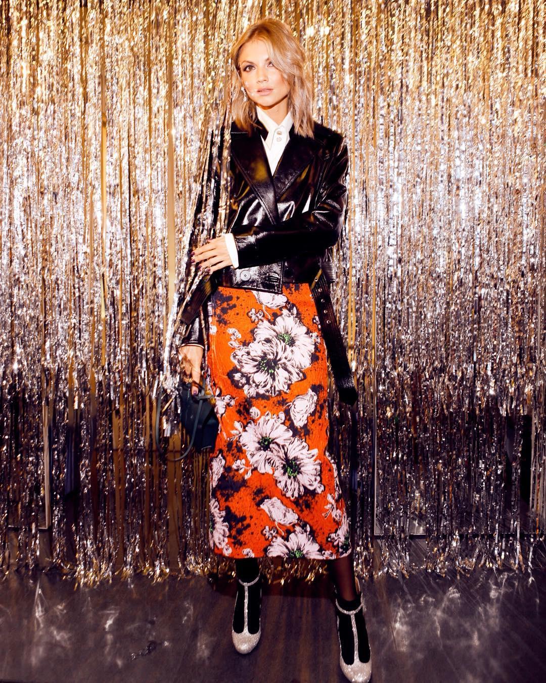 длинные юбки осени 2019 фото 6
