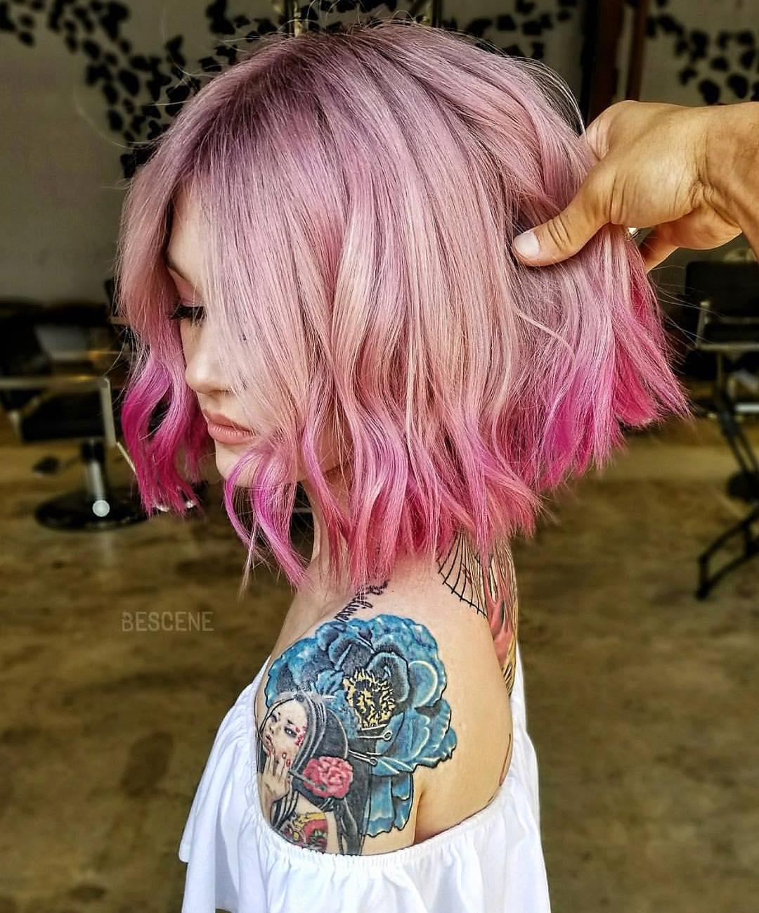 Окрашивание кончиков волос фото 7