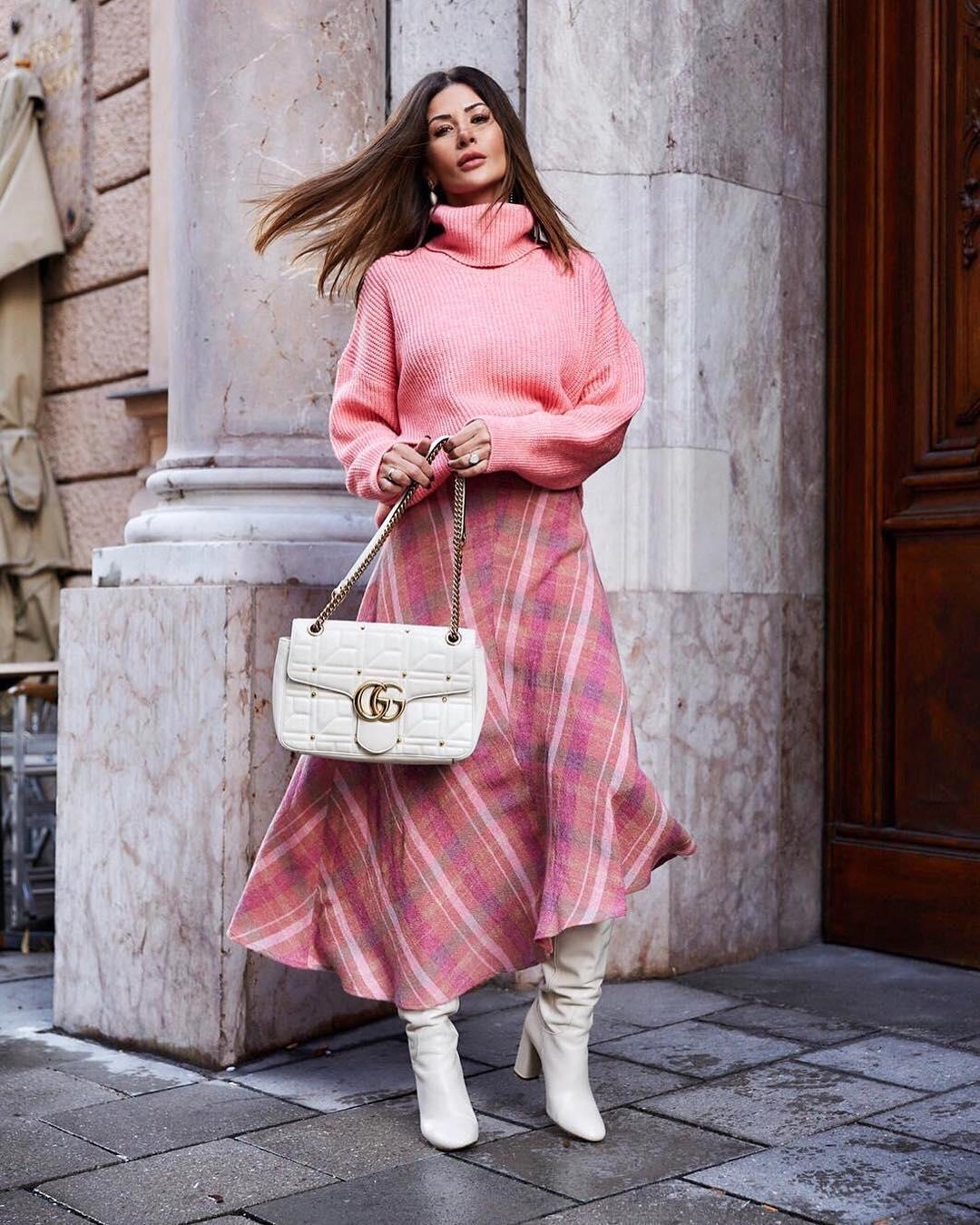 длинные юбки осени 2019 фото 1