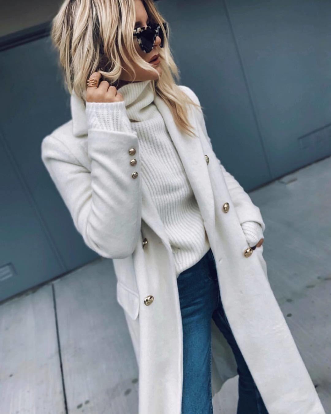 с чем носить свитер осенью 2019 фото 6