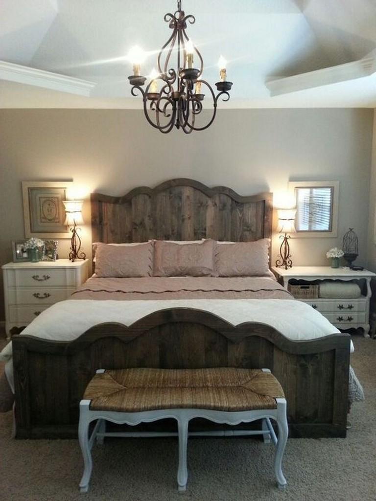 Идеи декора спальни в деревенском стиле фото 8