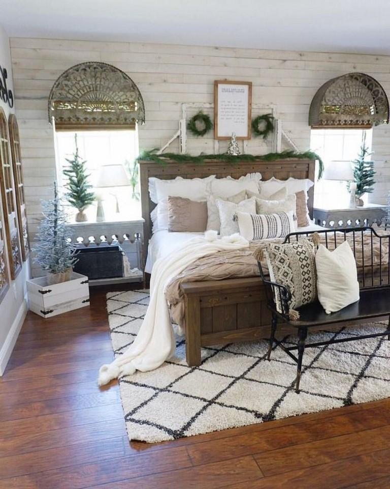 Идеи декора спальни в деревенском стиле фото 15