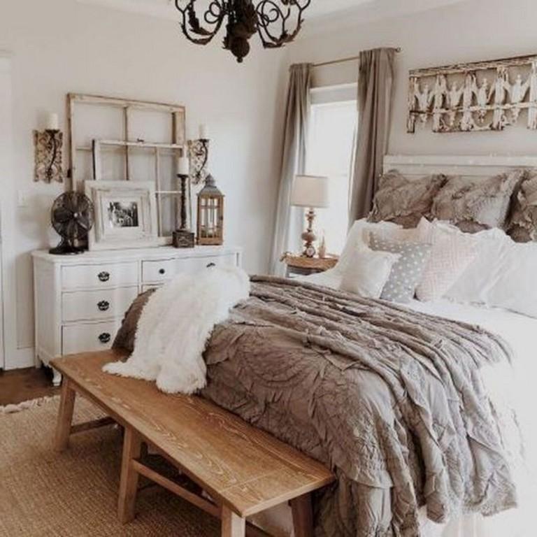 Идеи декора спальни в деревенском стиле фото 11