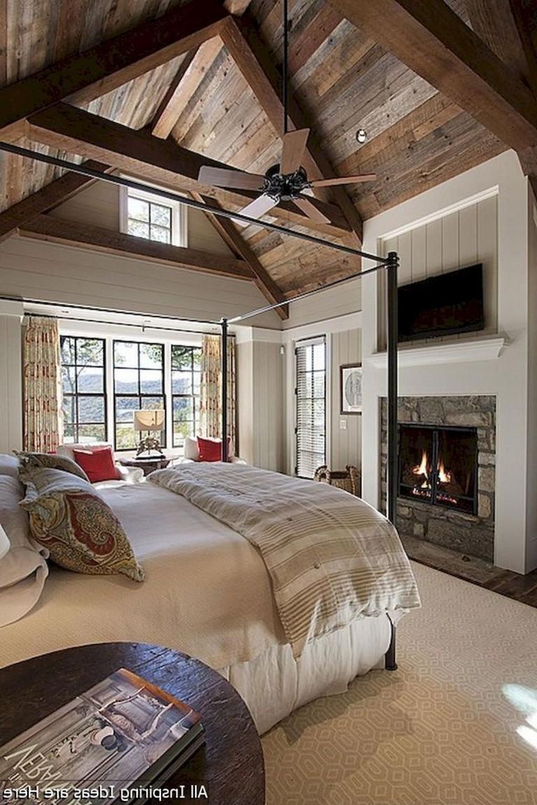 Идеи декора спальни в деревенском стиле фото 9