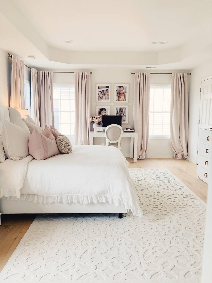 Идеи дизайна интерьера спальни в пастельных тонах фото 5