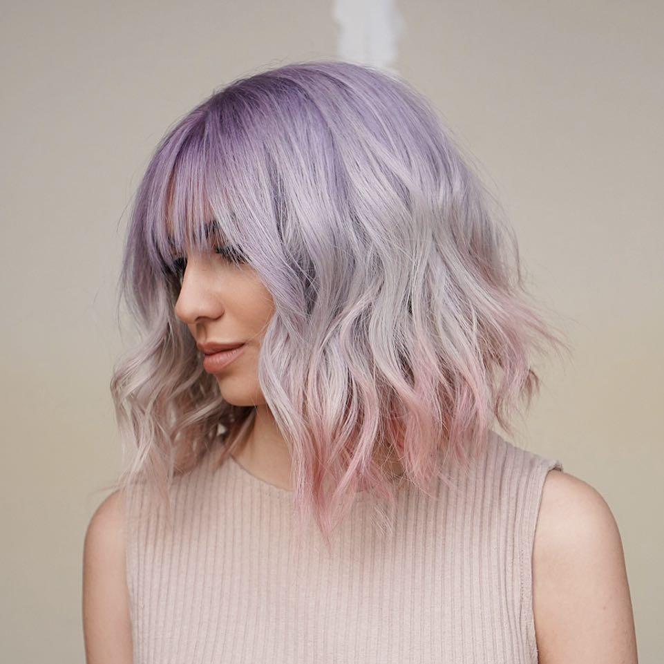 Окрашивание кончиков волос фото 10