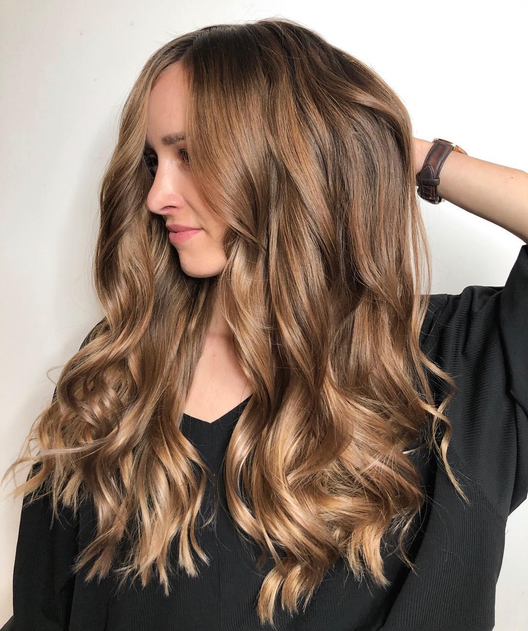 стрижки на длинные волосы 2020 фото 7