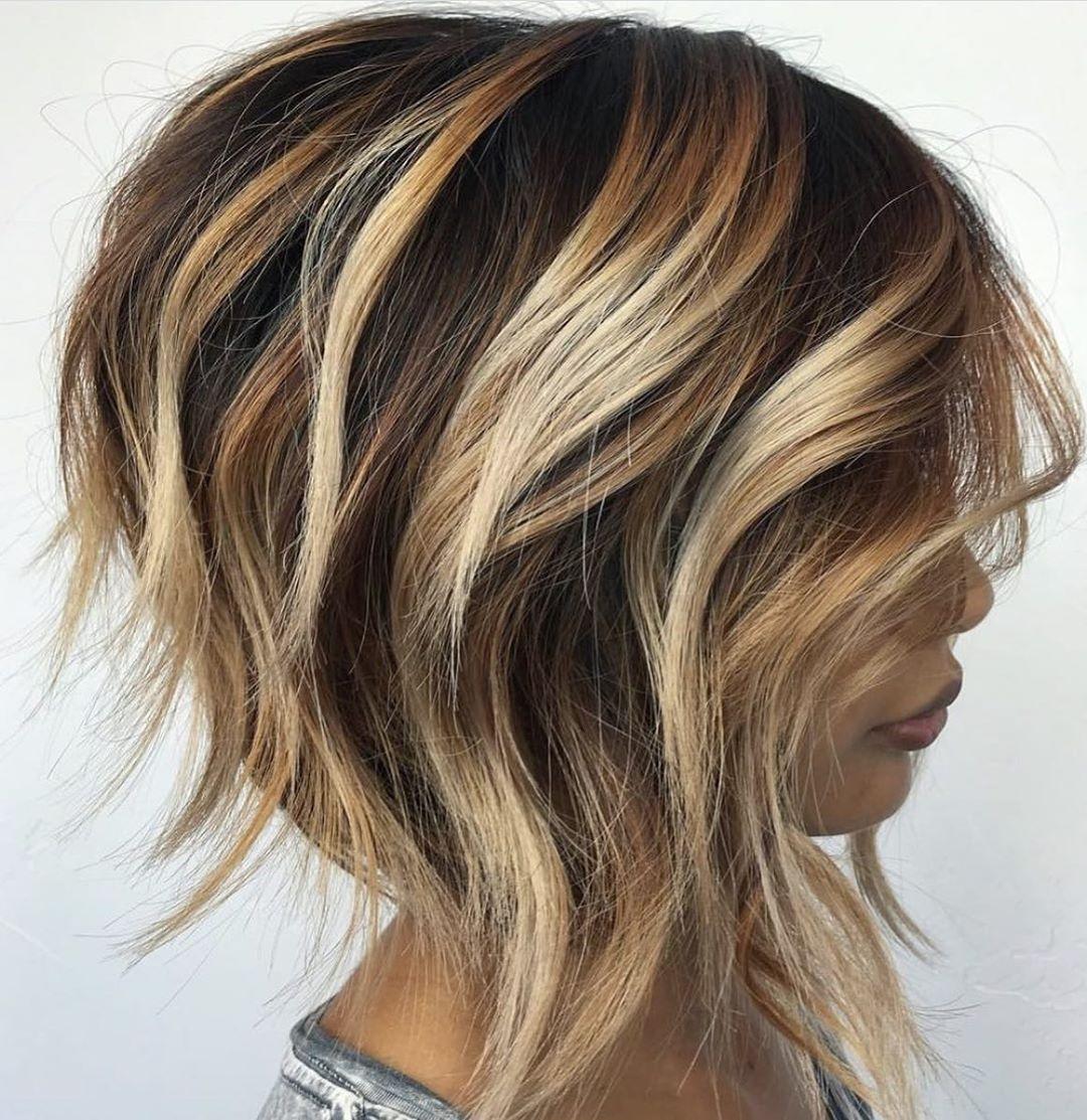 Мелирование на коротких волосах 2019-2020 фото 5