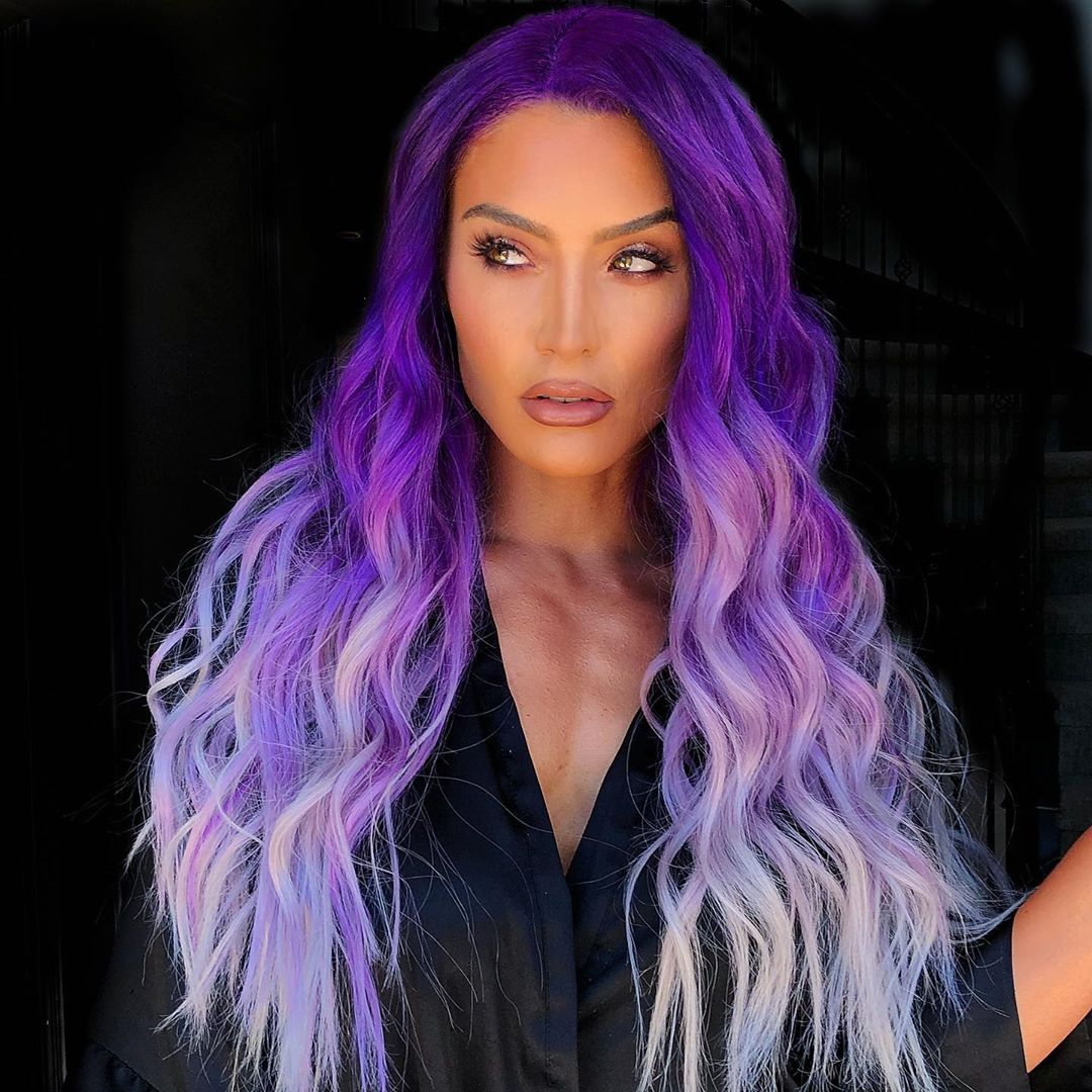 Растяжка цвета на волосах фото 7