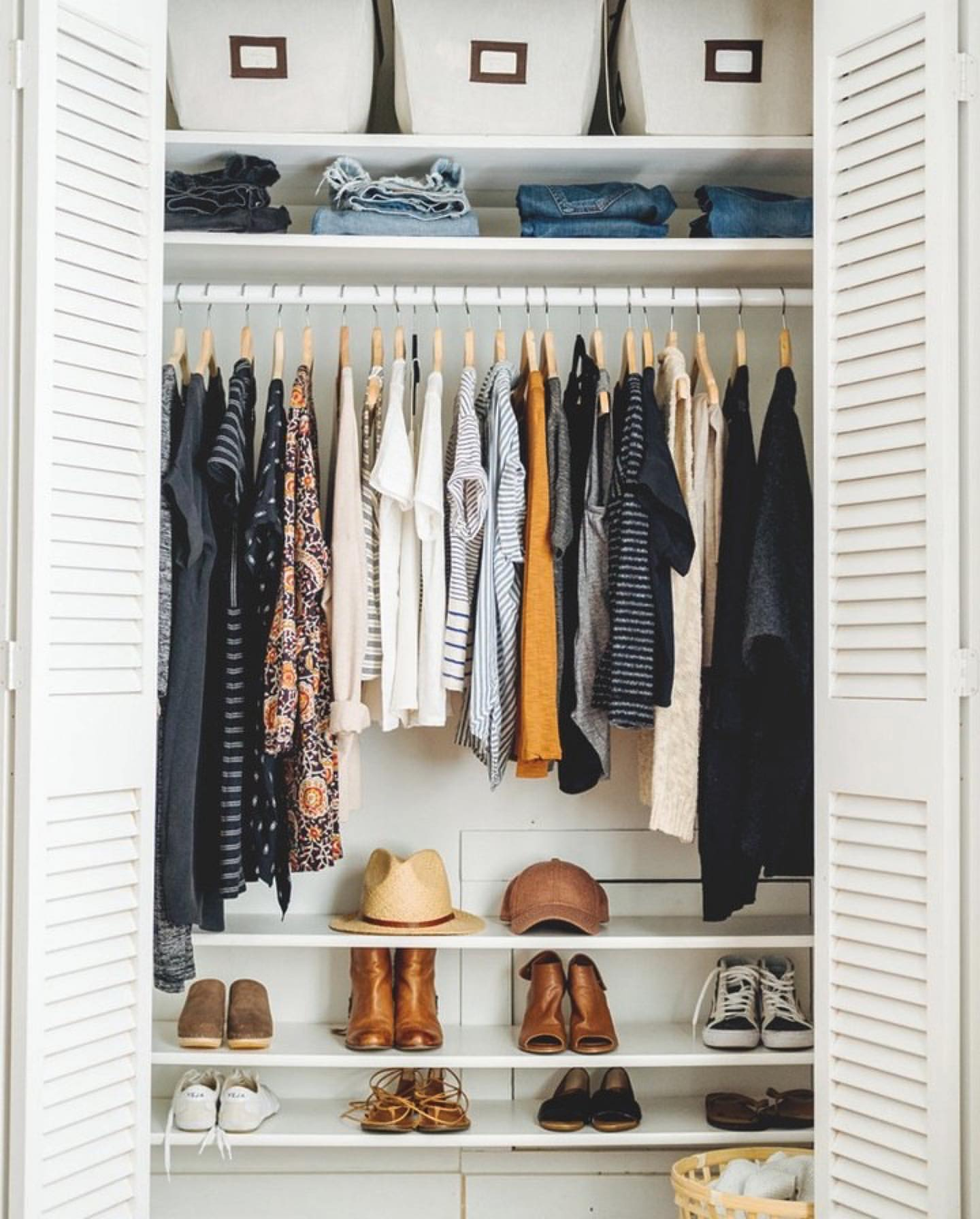 Полезные идеи организации гардероба фото 2