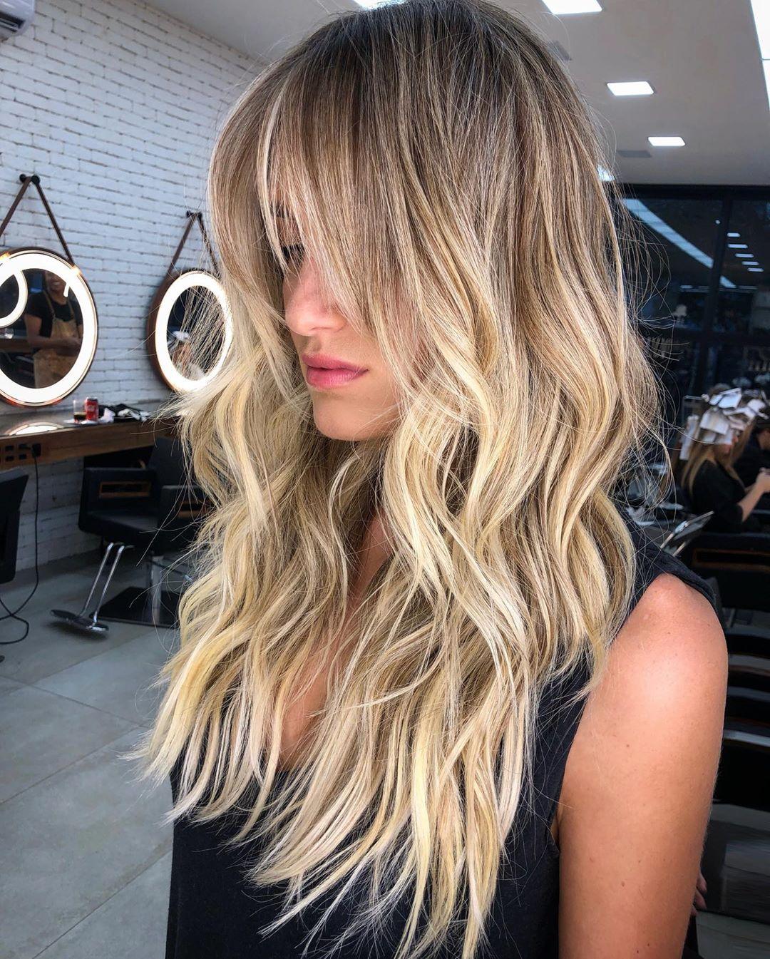 стрижки на длинные волосы 2020 фото 19