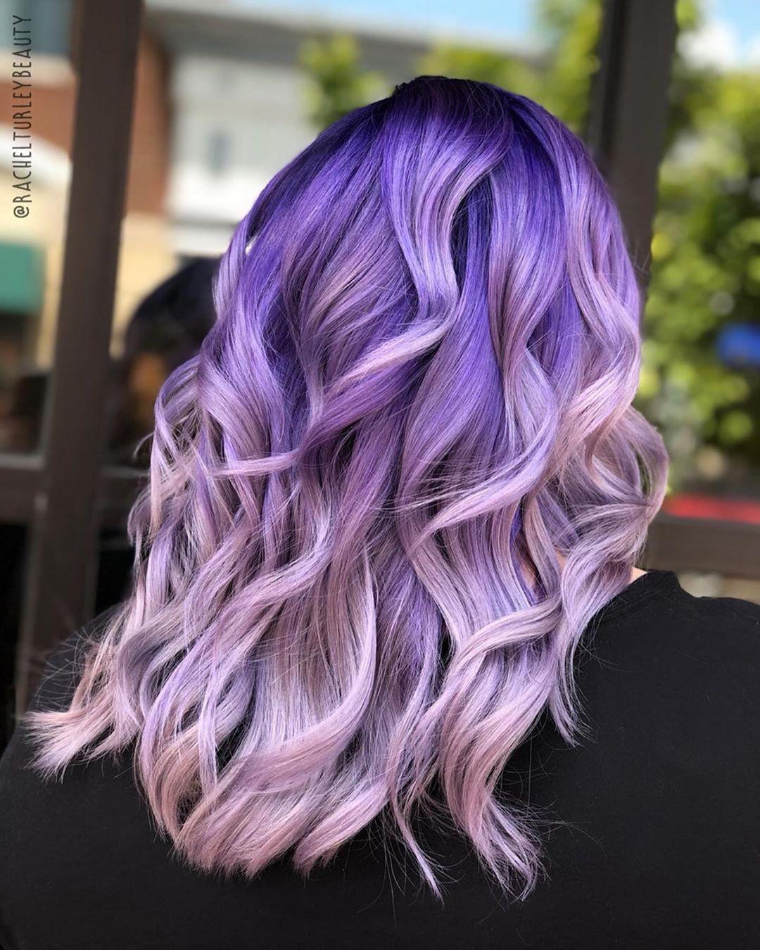 Растяжка цвета на волосах фото 21