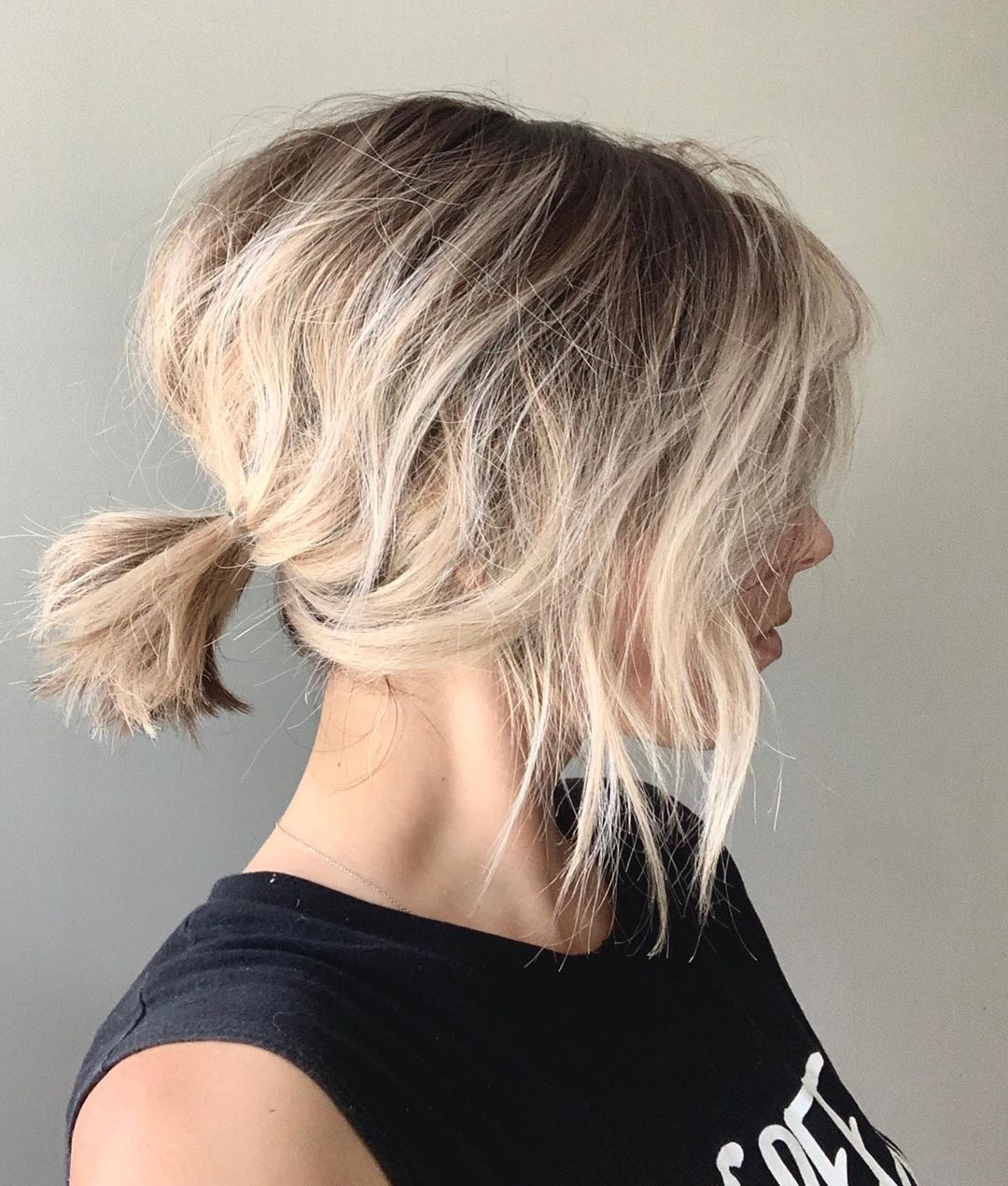 начес на короткие волосы фото 6