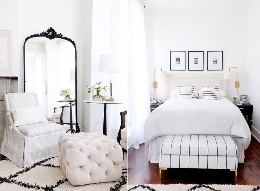 Идеи дизайна интерьера спальни в пастельных тонах фото 7