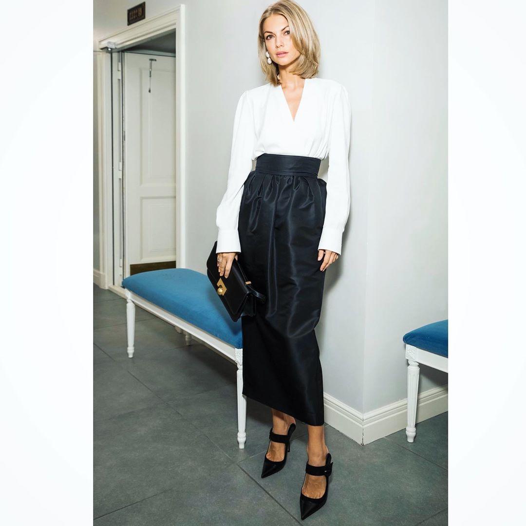 длинные юбки осени 2019 фото 8