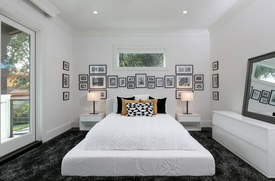 Идеи дизайна интерьера спальни в пастельных тонах фото 8
